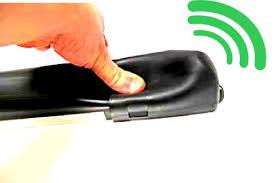 BORDO SENSIBILE DI SICUREZZA PER CANCELLI AUTOMATICI con TRASMETTITORE RADIO INCORPORATO La sicurezza dei cancelli automatici è