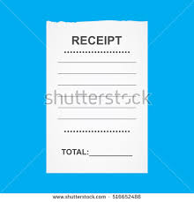 receipt blank blank receipt stock images royalty free images vectors