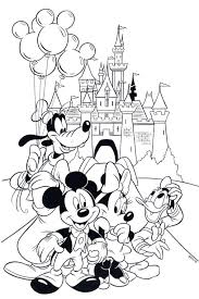 Coloring Pages Princess Minnie Mouse Coloring Page Pages Book