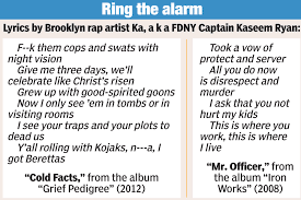 fdny veteran bad mouths cops in double life as rapper new york modal trigger