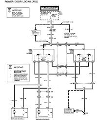 Wiring diagram power door lock actuator r dr full size