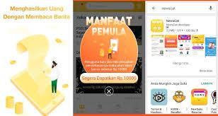 Caping adalah aplikasi membaca berita yang memberikan penawaran menarik kepada penggunanya berupa voucher, pulsa dan saldo dana gratis guys. Newscat Aplikasi Baca Berita Dibayar Selain Berita Menarik