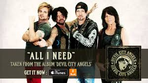 <b>DEVIL CITY ANGELS</b> - All I Need (Album Track) - YouTube