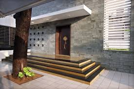 Small Picture Front Entrance Wall In House Outdoors Enchanting Modern Entrance