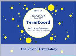 "Rodolfo Maslias on Twitter: ""TermCoord presented today by Rodolfo Maslias,  Lara Karlović and Janna Mack at the (virtual) EU Job Fair organised by the  European Commission… https://t.co/2iBl7vzIju"""