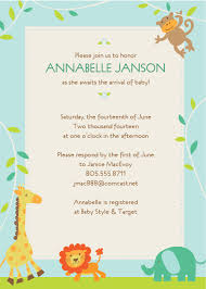 jungle baby shower invitation templates com design printable baby shower invitations templates