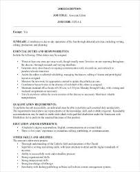 Associate Editor Cover Letter Resume Template Word Reddit – Resume ...