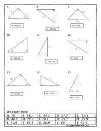 70599e5fb906d673cde05f6f2bfafd7a right triangles sin cos tan (soh cah toa) trig riddle practice on inverse functions worksheet answers