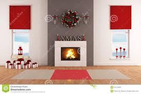 Xmas Living Room Modern Christmas Living Room Stock Illustration Image 43113939