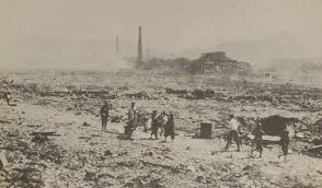Image result for atomic bomb in nagasaki