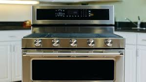 kitchen aid ranges review versatility outweighs uneven performance for this double oven kitchenaid electric range burner not working