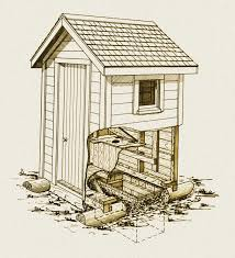 Out House Plans   Smalltowndjs com    Nice Out House Plans   Outhouse Plans Designs