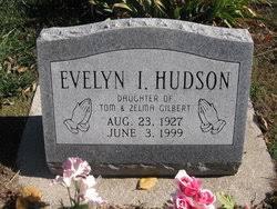 Evelyn Ilene Gilbert Hudson (1927-1999) - Find A Grave Memorial