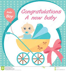 Congrats Baby Born New Baby Born Wishes Card
