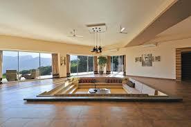 sunken living rooms making a comeback