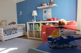 Sports Decor For Boys Bedroom Modern Minimalist Blue Bed Design Of The Sports Room Theme Can Add