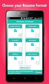 Resume Maker App Utmostus New Best Resume Creator App