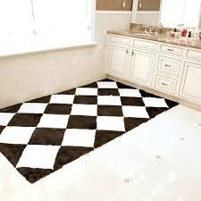black white checd rug elegant black white checd rug from wild mannered faux fur black and