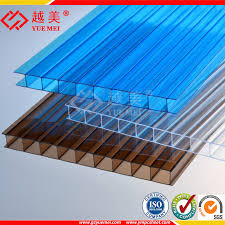 china twin wall polycarbonate hollow sheet greenhouse plastic solar panels china polycarbonate hollow sheet hollow polycarbonate sheet