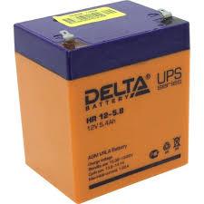 <b>Аккумулятор для ИБП</b> 12V 5.5Ah <b>Delta</b> HR 12-5.8 — купить, цена ...