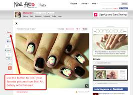 """NAILS Makes It Easy for You to """"Pin"""" Your Nail Art Pictures ..."""