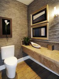 small half bathroom. Powder Room Stripes Small Half Bathroom