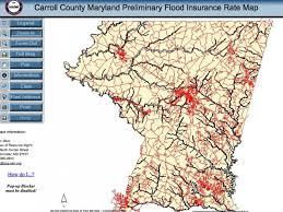 Fema Flood Insurance Quote Impressive New FEMA Flood Insurance Rate Maps Issued For Carroll County