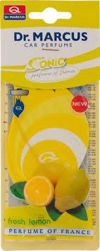 <b>Ароматизатор</b> для авто <b>DR</b>. <b>MARCUS</b> Sonic <b>Fresh</b> Lemon,Red ...