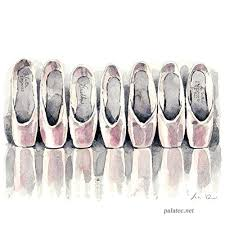 pointe shoes collection ballet home