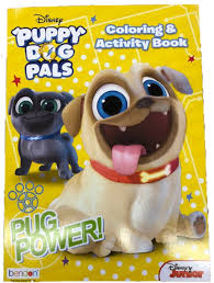 Puppy Dog Pals 128p Coloring Books For Only 199 Partytoyz