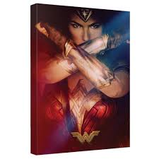 on wonder woman canvas wall art with wonder woman movie power poster canvas wall art wb shop