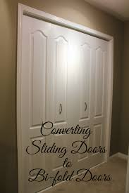 in our area most houses have closets with sliding doors they re quick to install and they don t encroach on the room space but they re not that pretty