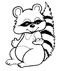 Small Picture Fresh Raccoon Coloring Pages 19 About Remodel Picture Coloring