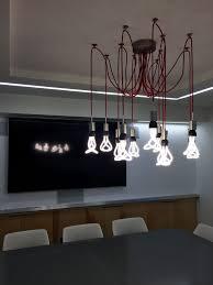 beautiful lighting uk. beautiful plumen chandelier in reelworldu0027s conference room lighting uk