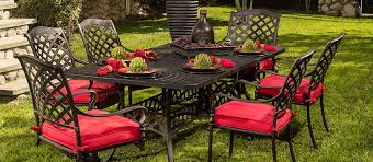 hanamint berkshire outdoor dining set
