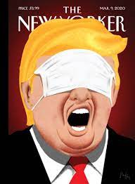 New Yorker coronavirus cover shows Trump with a mask over his eyes - The  Washington Post
