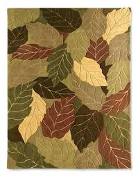 leaf pattern area rugs phenomenal awe inspiring home interior design 2
