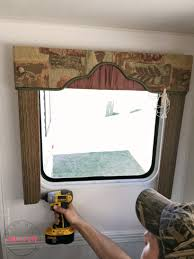 how to remove outdated rv window coverings from your camper it s easy to remove rv