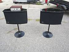 bose 901 stands. bose 901 series vi speaker system pair w equalizer stands, professionally tested stands