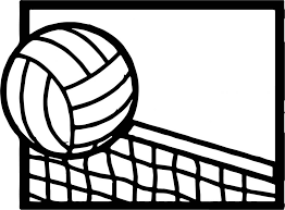 Small Picture Coloring Pages Volleyball Cartoon Coloring Page Wecoloringpage