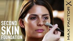 how to apply foundation second skin foundation make up tutorial with max factor you