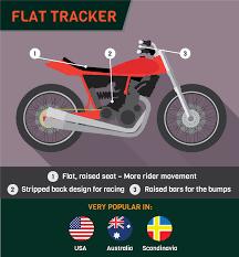 custom motorcycles around the world flat trackers