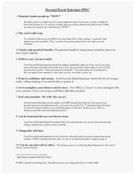 Examples Of Branding Statements For A Resume Resume Branding Statement Luxury Best 25 Personal Brand