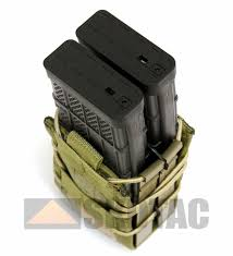 Double Stack Magazine Holder HSGI X100R TACO Double Rifle Magazine Pouch 37