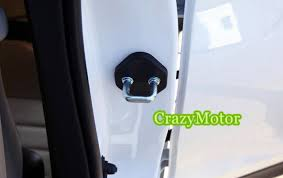 lock car door. For Toyota Fortuner 2016 2017 AN160 4pcs Plastic Car Door Lock Buckle Cover Accessories Styling
