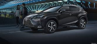 2018 lexus hybrid models. modren lexus exterior shot of the 2018 lexus nx 300 and lexus hybrid models