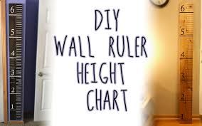 Diy Height Chart Diy Wooden Ruler Height Chart Peanut Mom