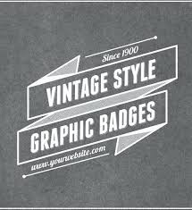Vintage Logo Templates Vector Template Illustrator Nenneco