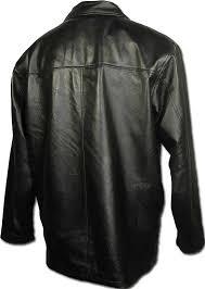 bi coastal black leather jacket