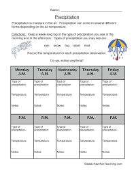 Weather Worksheets | Have Fun Teaching